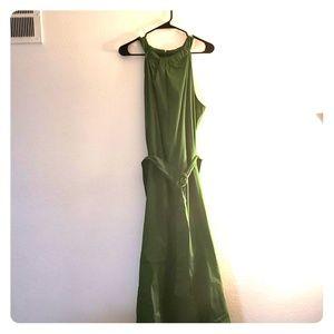 Mossimo Green Haulter Dress